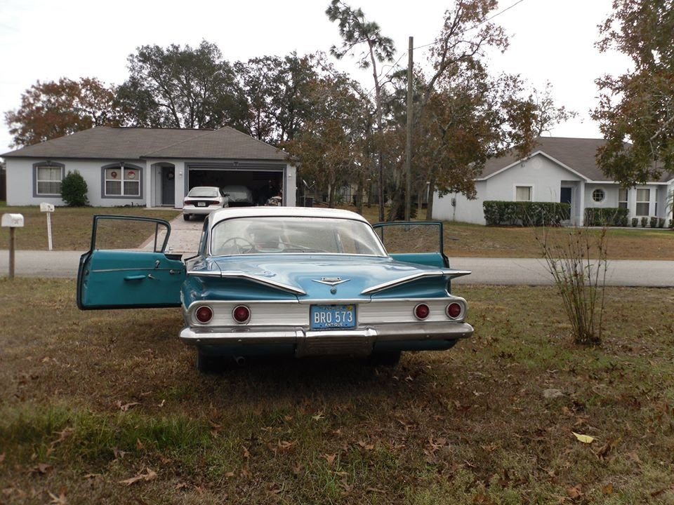 1960 Chevrolet Bel Air (Springhill, FL) $24,995 obo For Sale (picture 3 of 5)