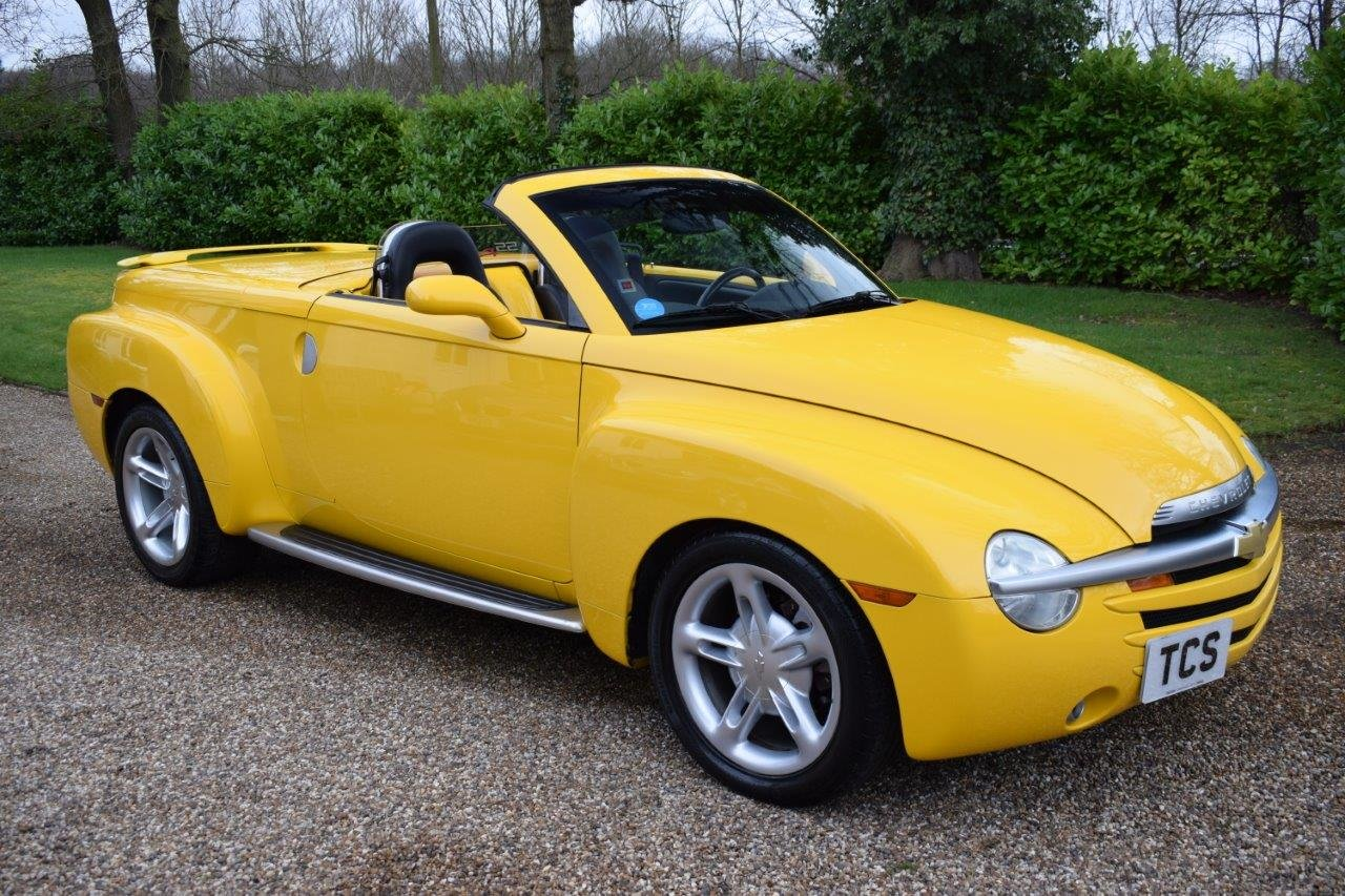 2003 Chevrolet SSR Convertible Pick Up 5.3i V8 Supercharger 400hp For Sale (picture 1 of 6)