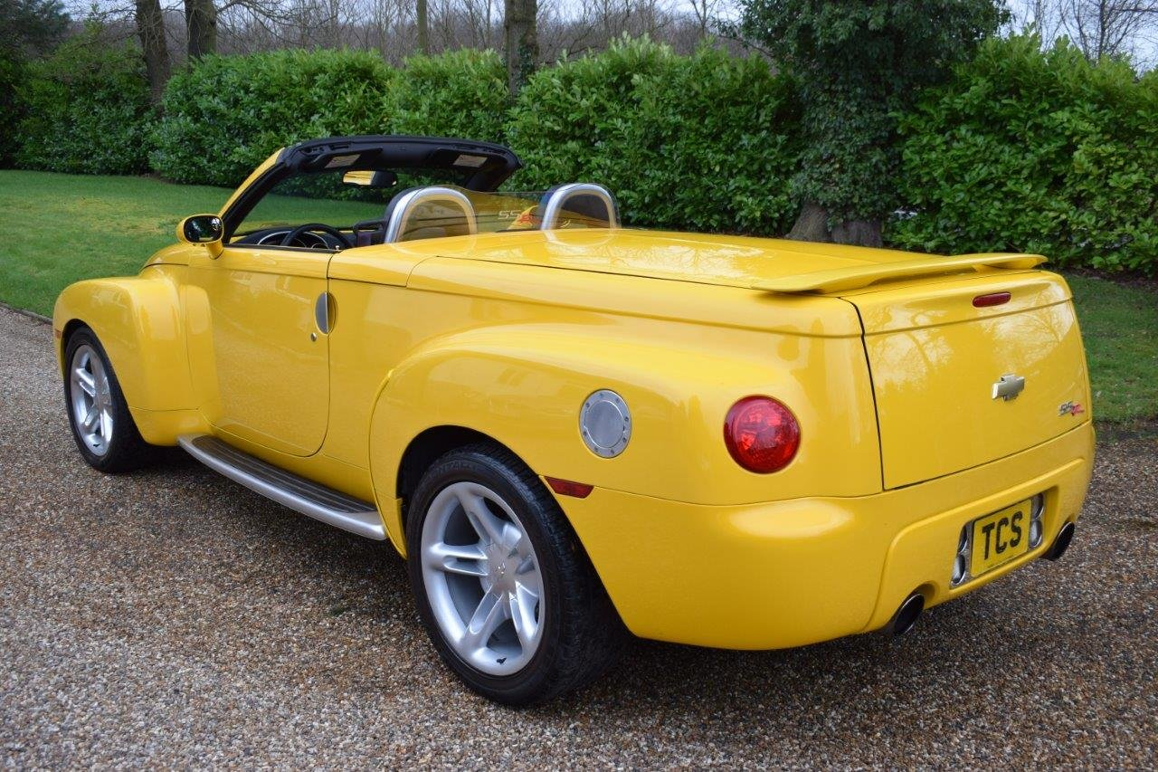2003 Chevrolet SSR Convertible Pick Up 5.3i V8 Supercharger 400hp For Sale (picture 2 of 6)