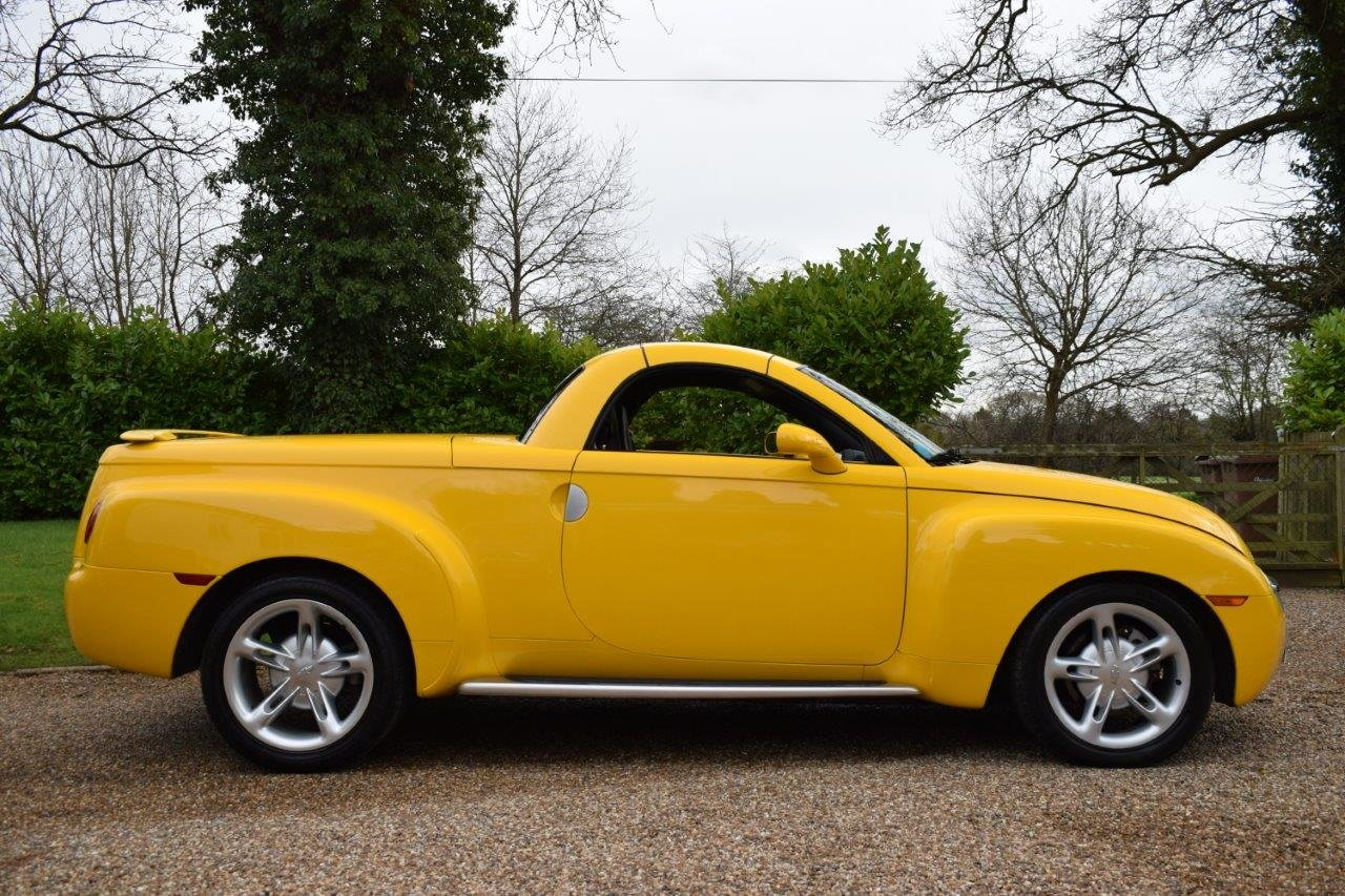 2003 Chevrolet SSR Convertible Pick Up 5.3i V8 Supercharger 400hp For Sale (picture 3 of 6)