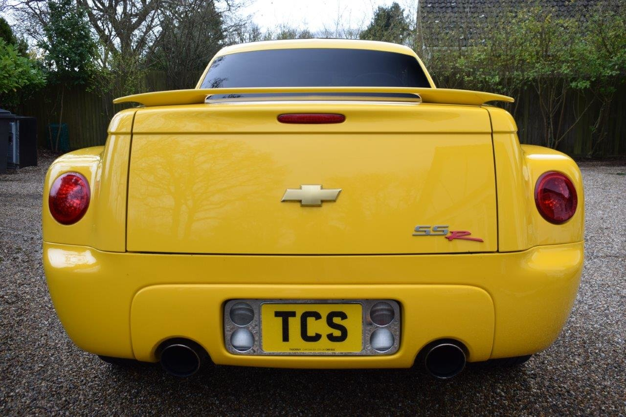 2003 Chevrolet SSR Convertible Pick Up 5.3i V8 Supercharger 400hp For Sale (picture 5 of 6)