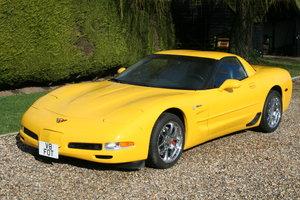 2002 Chevrolet Corvette Z06 Coupe 6 speed . Superb Example.FSH