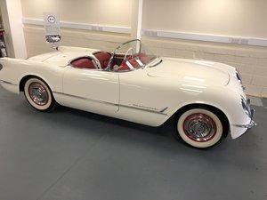 CHEVROLET CORVETTE 1954.  SUPER RARE, CONCOURS EXAMPLE. For Sale