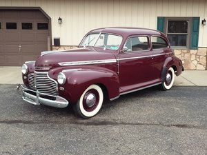 1941 Chevrolet Special Deluxe 2 Dr Sedan  For Sale by Auction