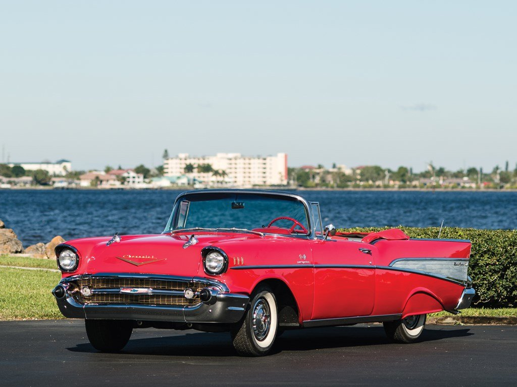 1957 Chevrolet Bel Air Convertible  For Sale by Auction (picture 1 of 6)