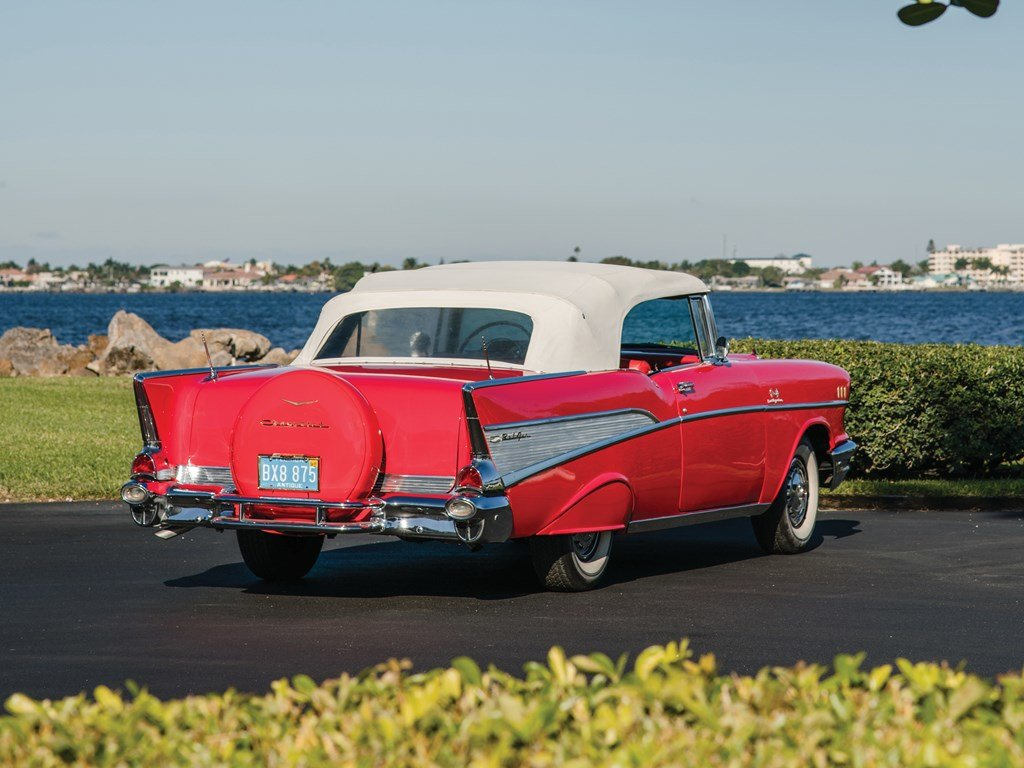 1957 Chevrolet Bel Air Convertible  For Sale by Auction (picture 2 of 6)