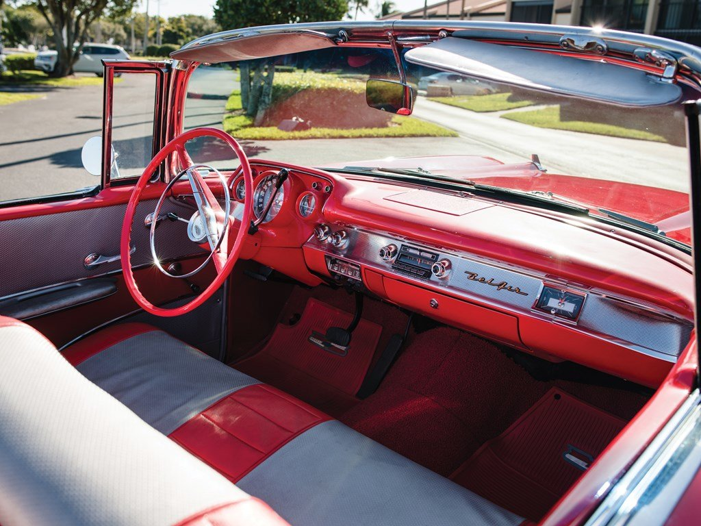 1957 Chevrolet Bel Air Convertible  For Sale by Auction (picture 4 of 6)
