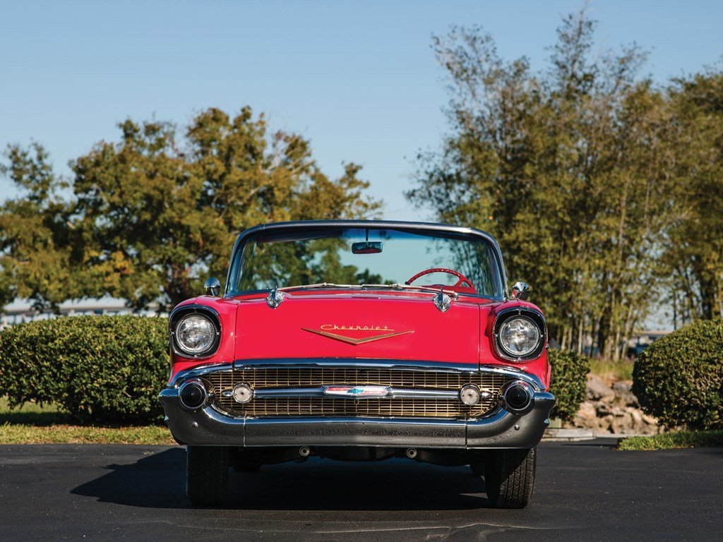 1957 Chevrolet Bel Air Convertible  For Sale by Auction (picture 5 of 6)
