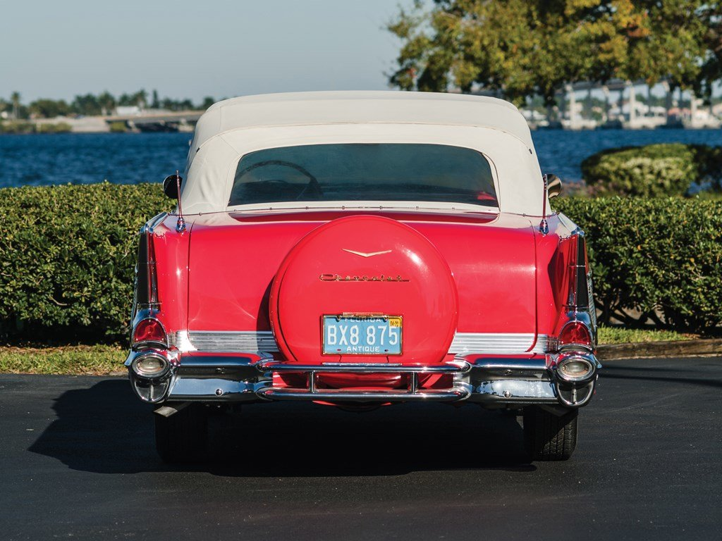 1957 Chevrolet Bel Air Convertible  For Sale by Auction (picture 6 of 6)