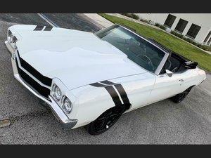 1970 Chevrolet Malibu Chevelle Convertible Custom