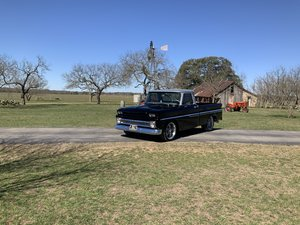 Picture of 1966 CHEVROLET C10 SWB FLEETSIDE 350 TURBO 350 PS PB VINTAGE SOLD