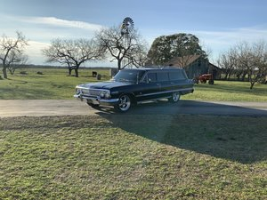 Picture of 1963 CHEVROLET IMPALA WAGON, FACTORY A/C, PS, PB, PW, POWER  SOLD