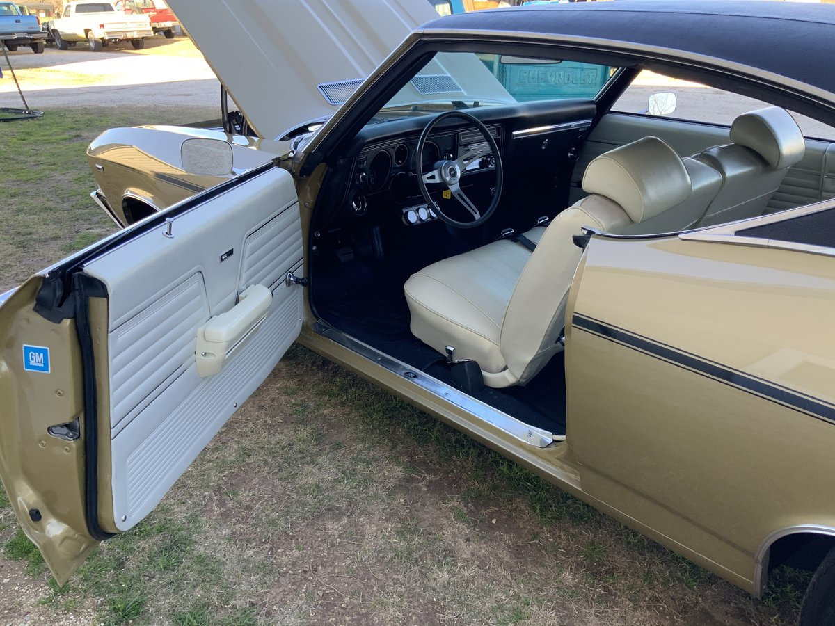 1969 CHEVROLET CHEVELLE SS 396 #'S MATCHING 396 350 HP, 4 SP For Sale (picture 2 of 6)