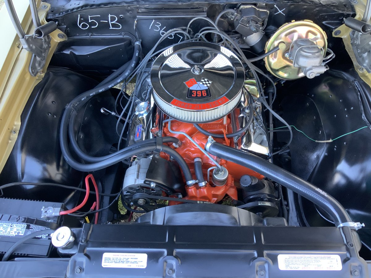 1969 CHEVROLET CHEVELLE SS 396 #'S MATCHING 396 350 HP, 4 SP For Sale (picture 3 of 6)