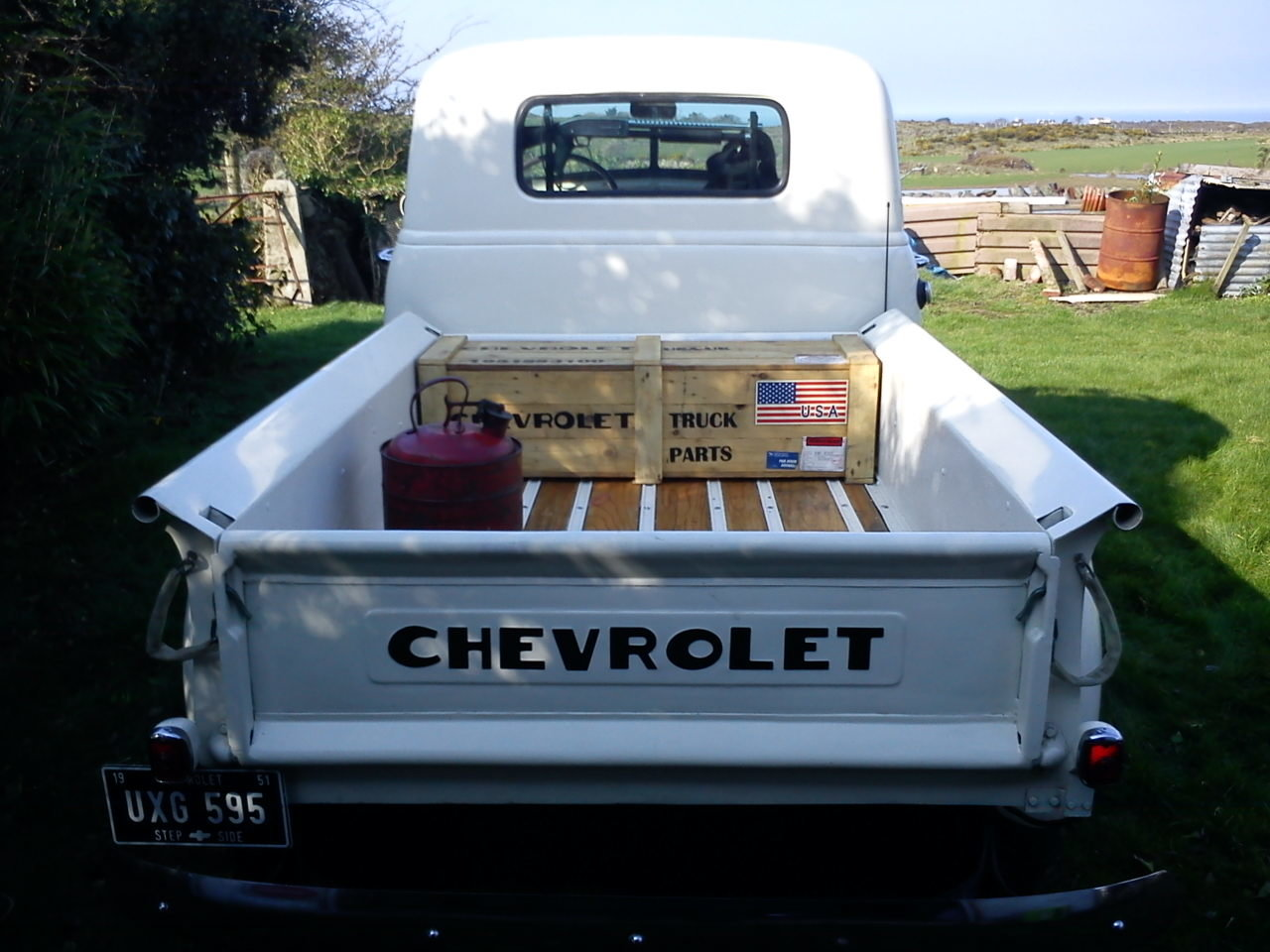 1951 Chevrolet step-side pick up For Sale (picture 2 of 6)
