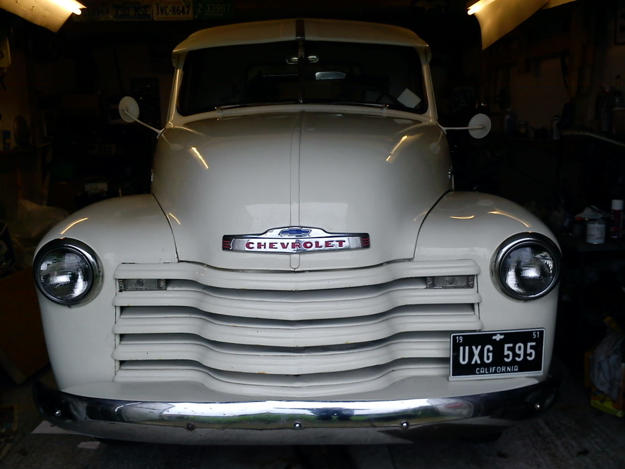 1951 Chevrolet step-side pick up For Sale (picture 4 of 6)