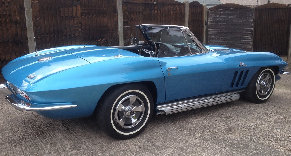 1966 Corvette C2 427/390 convertible For Sale (picture 1 of 6)