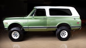 1972 GMC  Jimmy 4X4 SUV clean Jade Driver Manual $39.9k