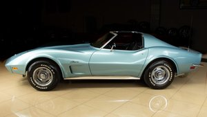 1973 Corvette Coupe T-Tops 350 Manual Restored Jade $32.9k For Sale