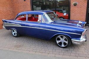 1957 Chevy 210 350 V8 2-door Custom Coupe-Full Rebuild For Sale