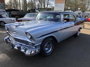 1956 Chevrolet Bel Air Sport Sedan 4 Door Pillarless Hardtop For Sale