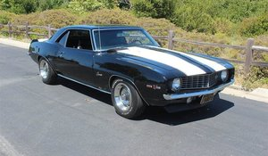1969 Chevrolet Camaro Z28 Coupe Solid driver Black 302 $59.9