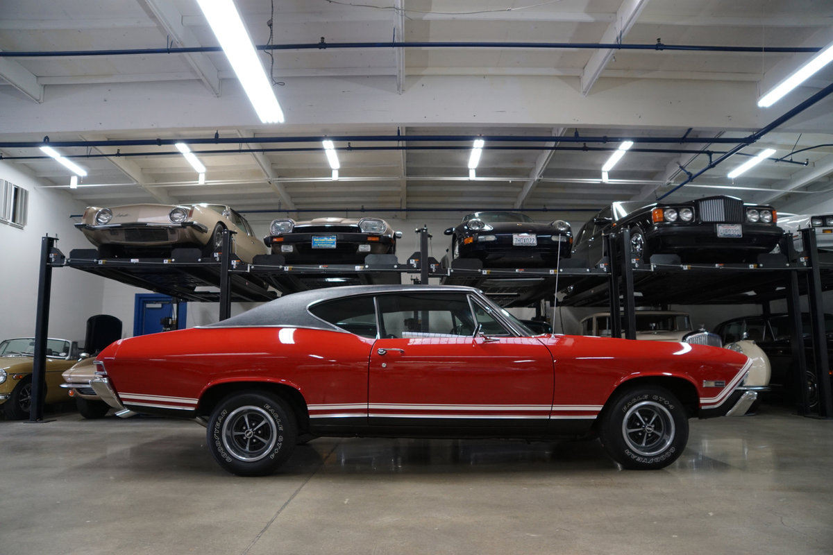 1968 Chevrolet Chevelle SS396 4spd manual 2 Dr Htop For Sale (picture 3 of 6)