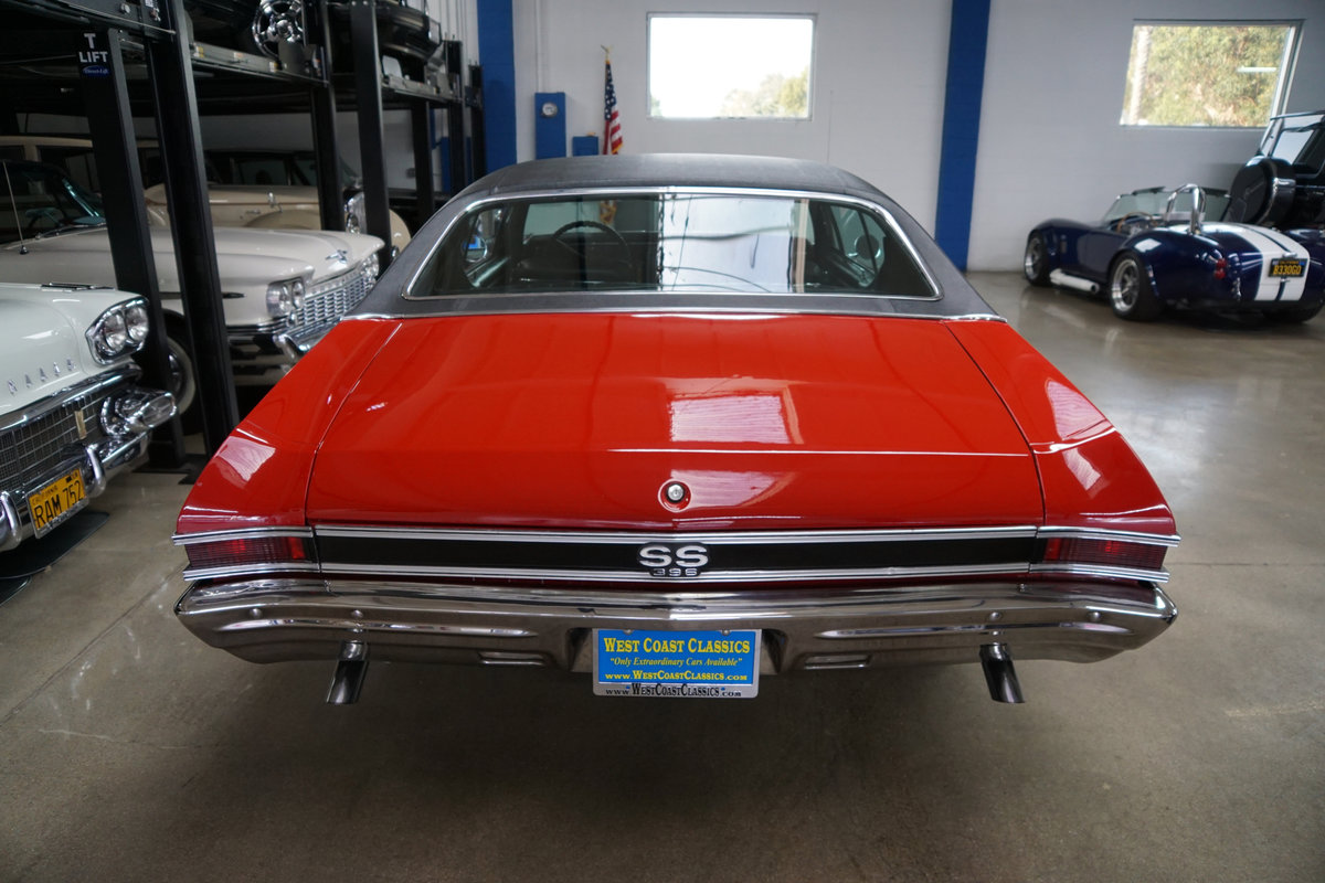 1968 Chevrolet Chevelle SS396 4spd manual 2 Dr Htop For Sale (picture 4 of 6)