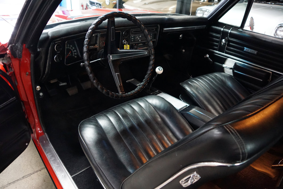 1968 Chevrolet Chevelle SS396 4spd manual 2 Dr Htop For Sale (picture 5 of 6)