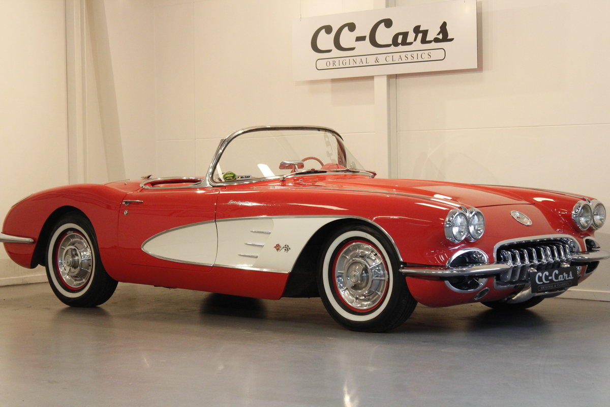1958 Chevrolet Corvette C1 Fuel Injection Convertible For Sale (picture 1 of 6)