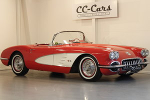 1958 Chevrolet Corvette C1 Fuel Injection Convertible For Sale