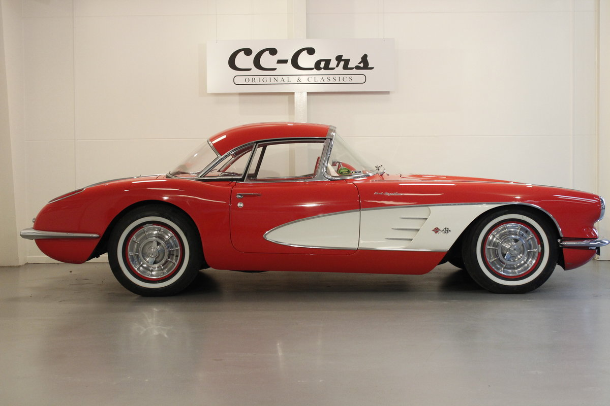 1958 Chevrolet Corvette C1 Fuel Injection Convertible For Sale (picture 3 of 6)