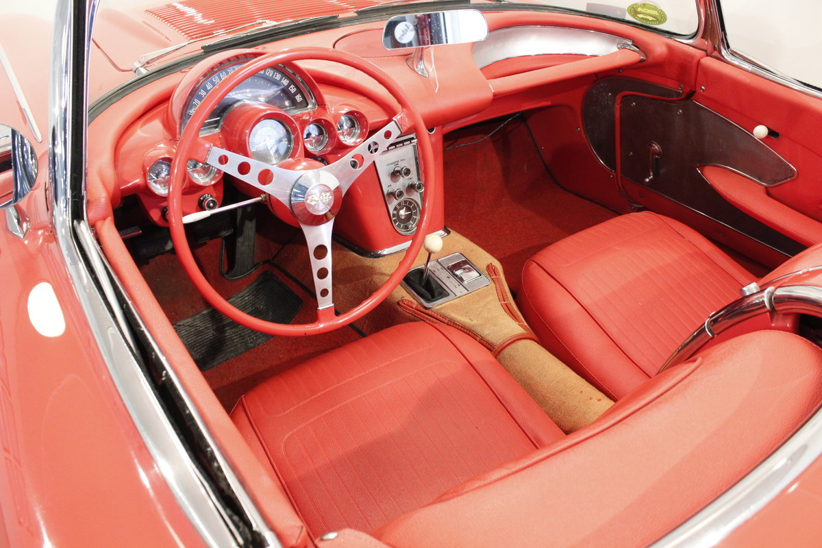 1958 Chevrolet Corvette C1 Fuel Injection Convertible For Sale (picture 6 of 6)