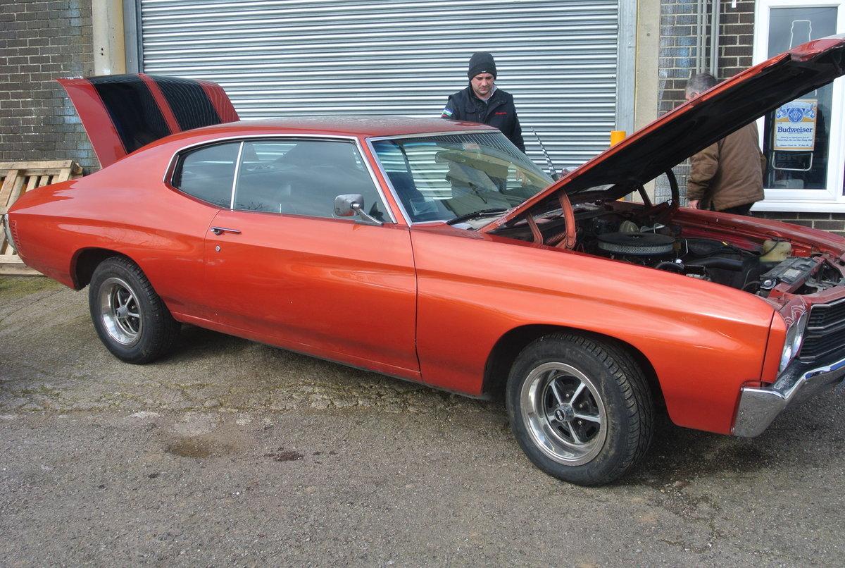 1970 Chevrolet Chevelle 2dr