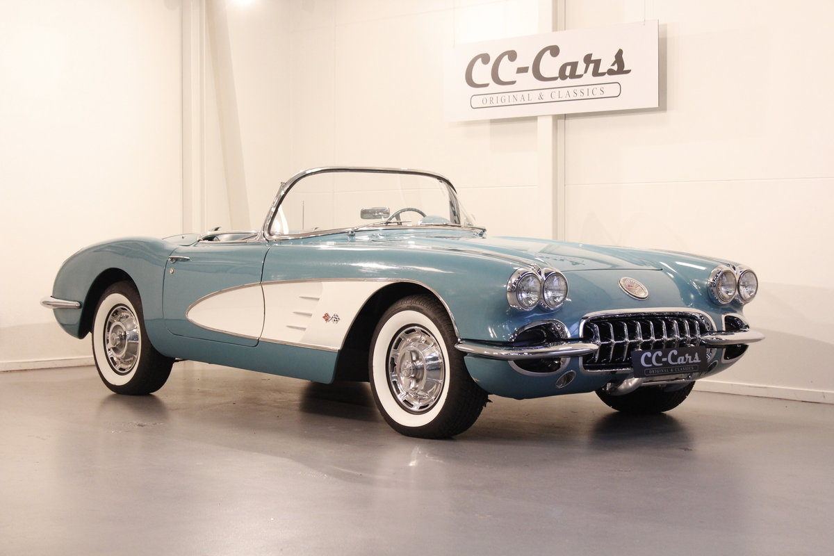 1960 Chevrolet Corvette C1 Convertible SOLD (picture 1 of 6)