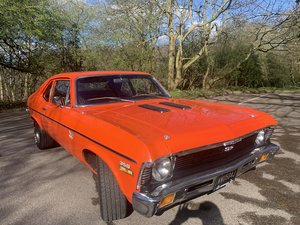 1971 chevy Nova muscle car