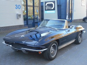 1963 CHEVROLET CORVETTE C2 CONVERTIBLE For Sale