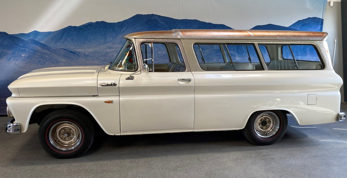 Chevrolet Suburban 1962 Totally restored  For Sale (picture 6 of 6)