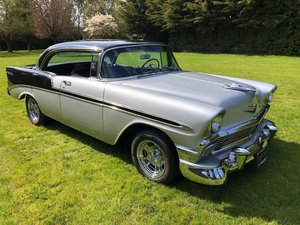1956 Chevrolet Bel Air Sport Sedan 4 Door Pillarless Hardtop