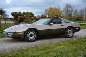 Chevrolet Corvette 5.7 V8 Inj. Manual collector item 1984 SOLD
