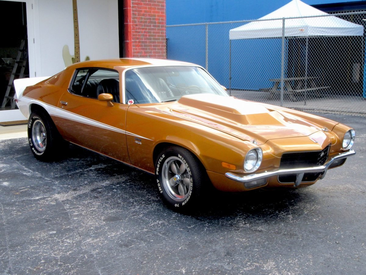1973 Motion Performance Phase III Camaro Fast 475-HP $129.5k For Sale (picture 2 of 6)