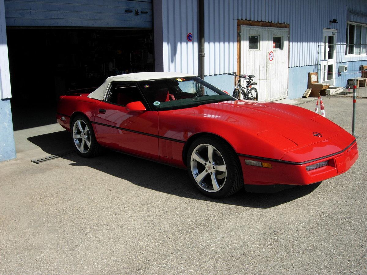 1987 Corvette C4 Convertible  For Sale (picture 1 of 6)
