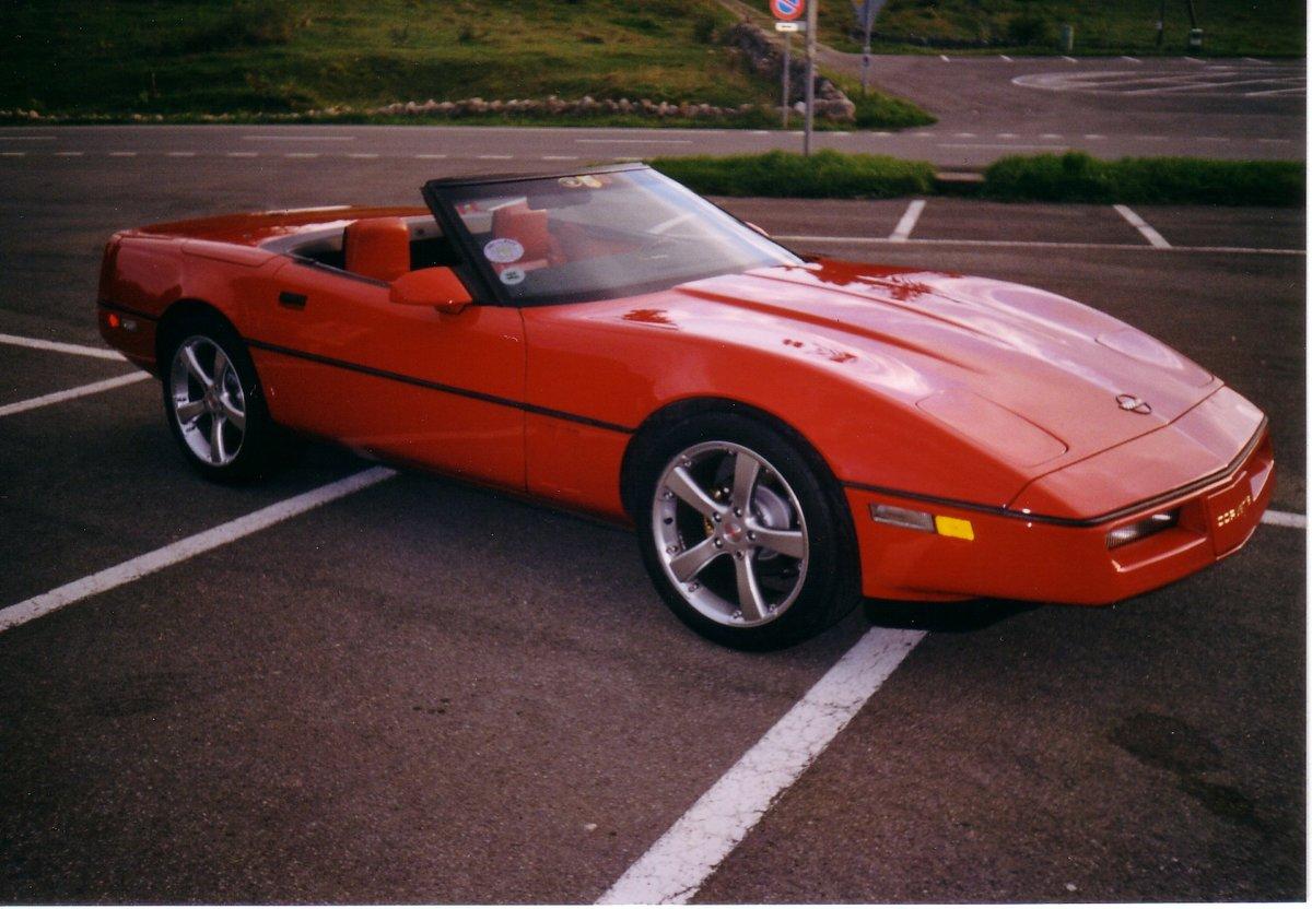 1987 Corvette C4 Convertible  For Sale (picture 6 of 6)