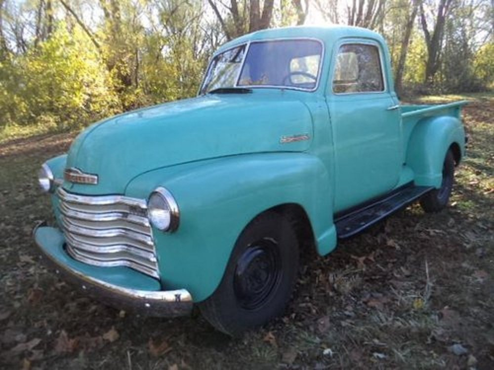 1951 Chevrolet 3100 Deluxe Pickup For Sale (picture 1 of 6)
