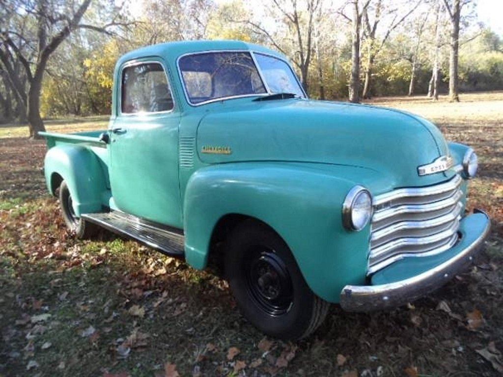 1951 Chevrolet 3100 Deluxe Pickup For Sale (picture 2 of 6)