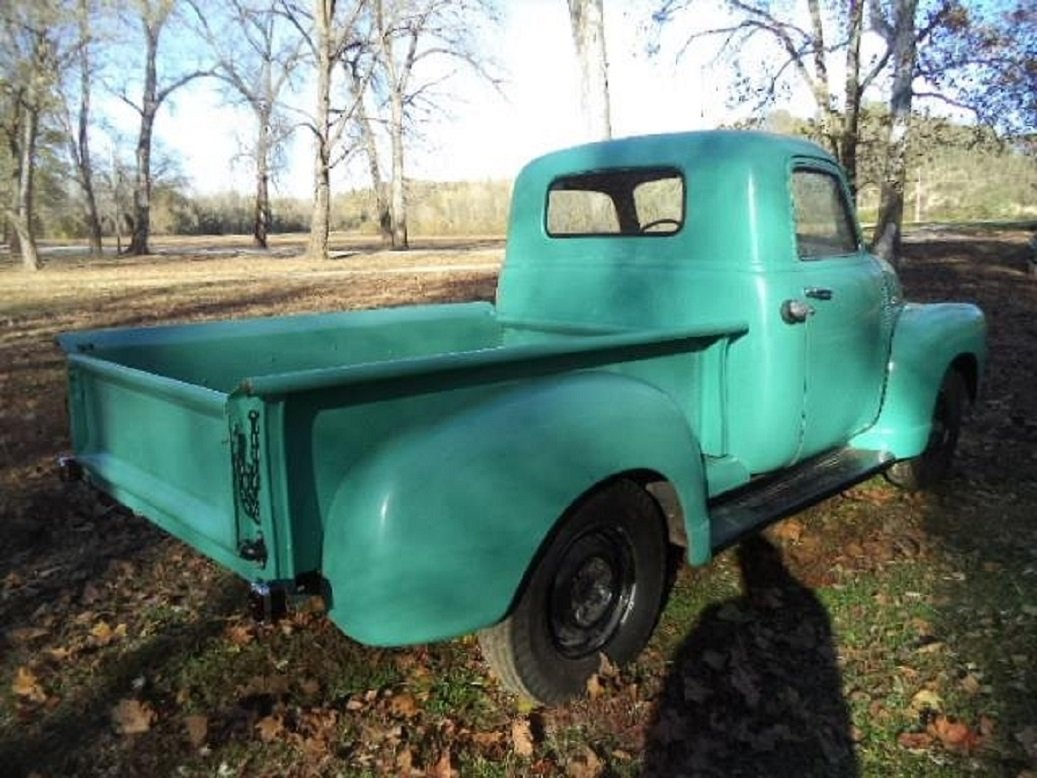 1951 Chevrolet 3100 Deluxe Pickup For Sale (picture 4 of 6)