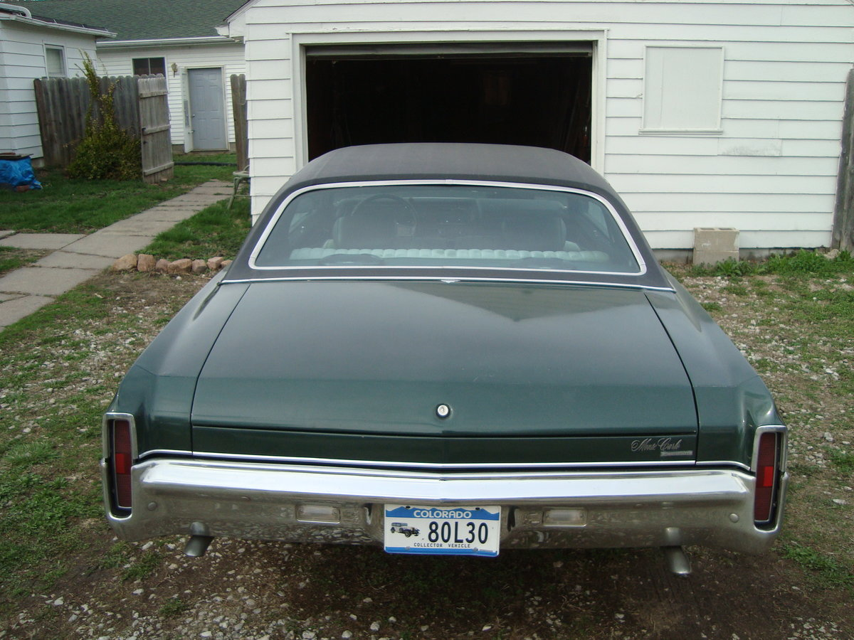 1970 Chevrolet Monte Carlo For Sale (picture 4 of 6)