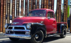 Picture of 1955 Chevrolet 3100 5-Window Pickup For Sale by Auction