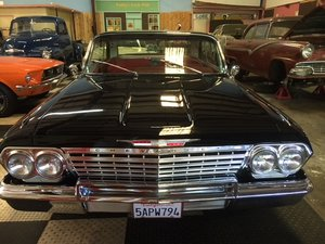 1962 Chevrolet Impalla SS Rare 409/409 Split Shipping For Sale
