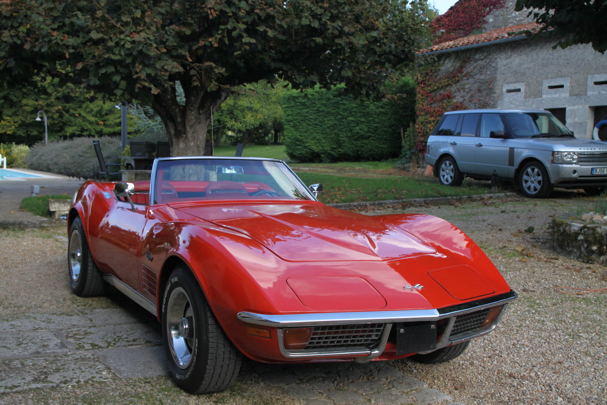 1970 Very Nice convertible Corvette in France For Sale (picture 1 of 6)